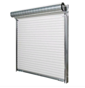 Brand New 9x7 Roll Up Garage Door , Rails And Brushes