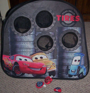 The World Of Cars Book & Disney Cars Folding Table