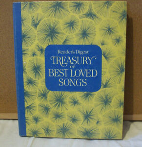 Readers Digest song books