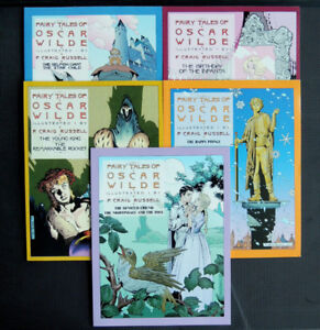 FAIRY TALES OF OSCAR WILDE: THE COMPLETE PAPERBACK SET 5 NEW