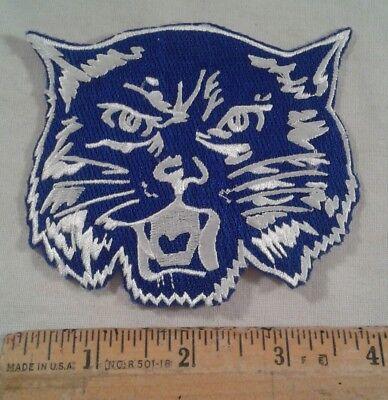 Bobcat Lynx Head Face Logo Patch - 4