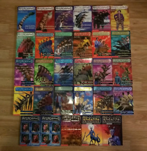 29 Animorphs-includes #1-24 like new