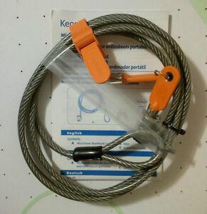 NEW KENSINGTON 64068F MICROSAVER NOTEBOOK LOCK & SECURITY CABLE London Ontario image 4