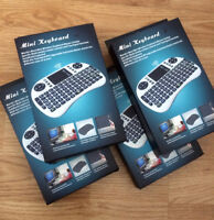 Mini 2.4GHz Wireless Keyboard Touchpad For IPTV, Android TV, PC