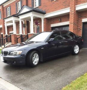2008 BMW 750i SPORT PACKAGE