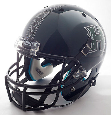 (HAWAII WARRIORS Schutt AiR XP Authentic GAMEDAY Football Helmet )