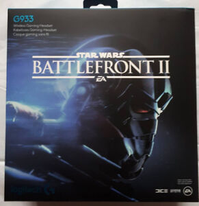 Limited Edition Star Wars Battlefront II G933 Gaming Headset