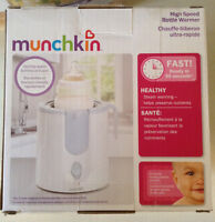 Munchkin high speed bottle warmer and mini food processor