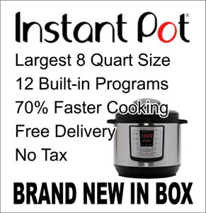 INSTANT POT 8qt NEW Never Opened BNIB