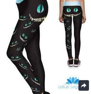 """Were all mad here"" sport leggings"
