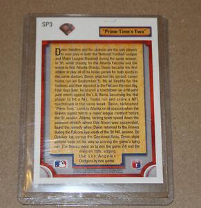 1992 Upper Deck Deion Sanders Atlanta Braves #SP3 Baseball Card Strathcona County Edmonton Area image 2