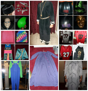 Adult Halloween Costumes King, Zombie, Luigi, Witch, Clown, Hats