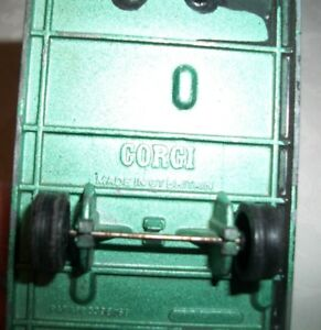 Vintage Corgi Double Wide Trailer