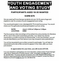 Youth Engagement and Voting Study