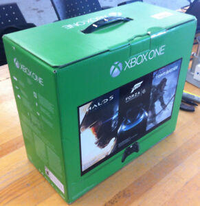 New and Sealed Xbox One 500GB Console + Gears Of War