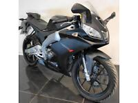 2016 66 APRILIA RS RS4 125 BLACK LEARNER LEGAL TRADE SALE/PROJECT 875 MILES CATD