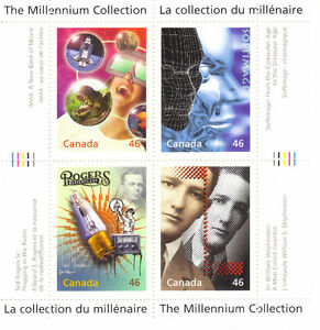 Canada Stamps - The Millennium Collection - Media Technologies West Island Greater Montréal image 1