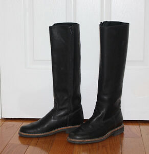 Leather Roots riding boots