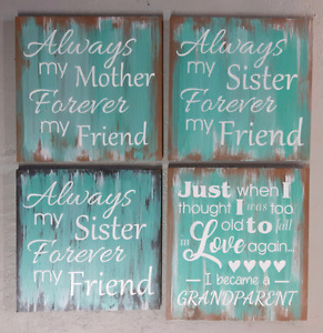 Mothers day signs!!!