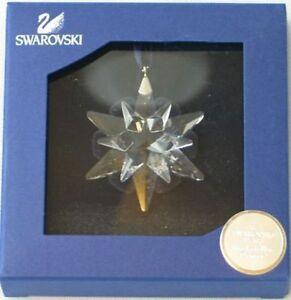 Swarovski Crystal Annual Christmas Ornament 2005 Little ...