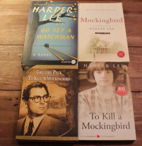 Harper Lee - To Kill A Mockingbird + Go Set A Watchman + 2 More