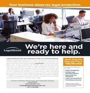 # Dependable legal services.