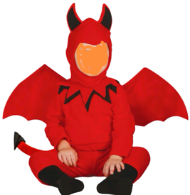 Devil costume 6 to 12 months