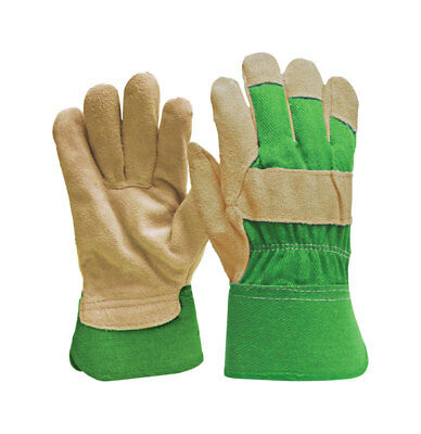 - NEW! DIGZ Women's Green Gardening Gloves Suede Leather Medium 77236-26
