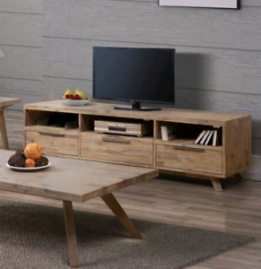 TV Unit - Solid Timber - NEW