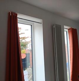 Dunelm floor length Blackout Eyelet Curtains