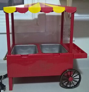 Vintage Old Fashioned Carnival Style Hot Dog Cart (Hotdog Maker)