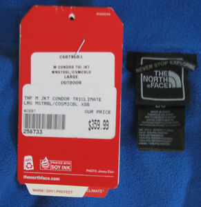 North Face Condor Tri-Climate winter jacket, Men's Lrg. Cambridge Kitchener Area image 4