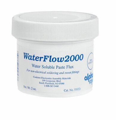 Alpha Metals Water-soluble Plumbing Flux 2-oz. Am51053