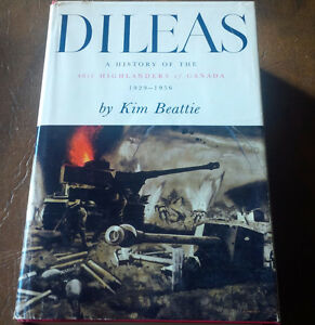 Book: Dileas, 48th Highlanders of Canada, 1929-1956 Kitchener / Waterloo Kitchener Area image 1