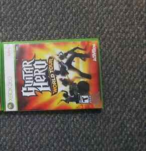 guitar hero world tour xbox 360