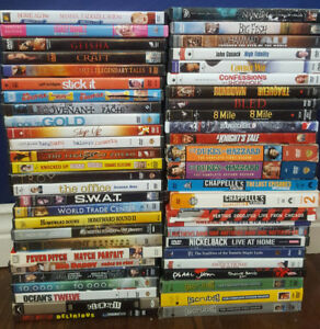 Assorted Movies 1$ each or 40$ takes the lot!