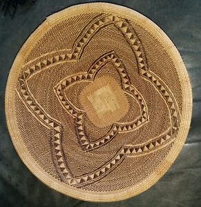 Seri Indian Northern Mexico Hand Woven Bowl