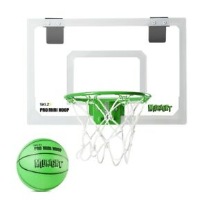 Pro Mini Basketball & Hoop, SKLZ Glow in the dark LIKE NEW
