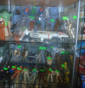 VINTAGE STAR WARS FIGURES VEHICLES POTF EWOKS DROIDS COINS