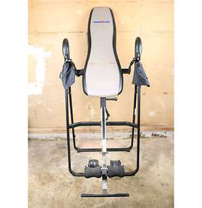 Ironman heated inversion Table