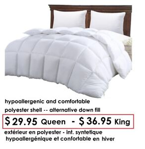 BEDS + BEDDING - LITS ET LITERIES - LIQUIDATION AU PUBLIC