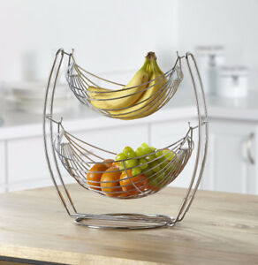 Double Tier Fruit Basket, New