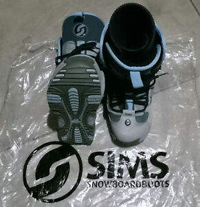 Women's Sims RC600 Snowboard Boots - Size 9