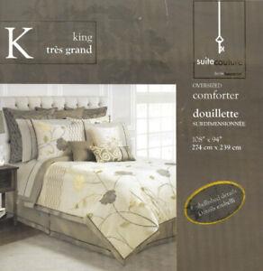 DOUILLETTE de lit surdimensionnée, très grand lit (King) - 150$