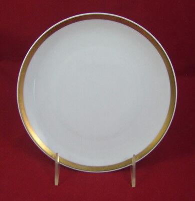 Thomas Exquisit, weiß m. breitem Goldrand, Kuchenteller 19 cm, gebr. Topzust. ()