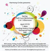 Spring Self-Care Workshops