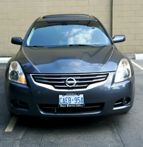 2012 NISSAN ALTIMA 2.5, SUNROOF AND HEATEDVSEATS