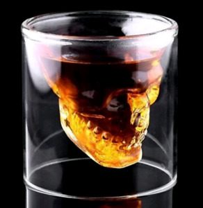 Skull Decanter, Glasses & Molds