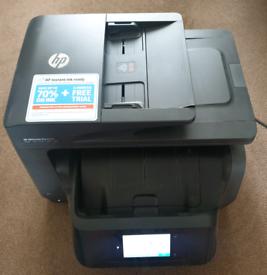 HP Officejet Pro 8725 printer.