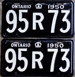 YOM Licence Plates For Your Old Auto - Ministry Guaranteed! Peterborough Peterborough Area image 5